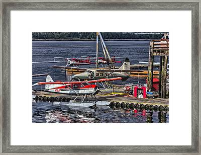 Sea Planes  1s14v1 Framed Print