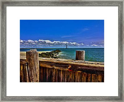Sea Scape Framed Print by Will Burlingham