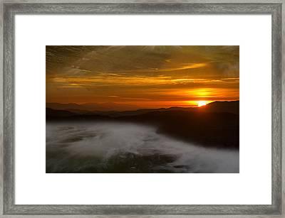 Sea Set Framed Print by Art McCaffrey