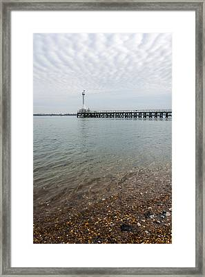 Sea Shore Framed Print by Svetlana Sewell