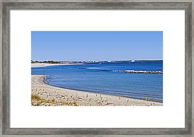 Sea Side Area Framed Print by Susan Leggett