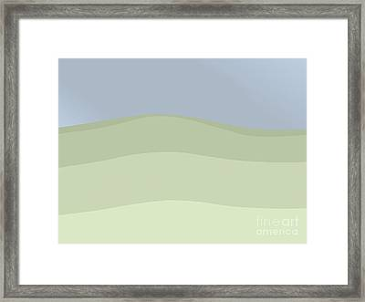 Sea Sky Variation 2 Framed Print