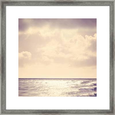 Sea Sparkle Framed Print