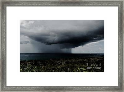 Sea Spout Framed Print by Amar Sheow