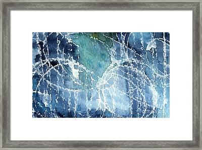 Sea Spray Framed Print by Linda Woods
