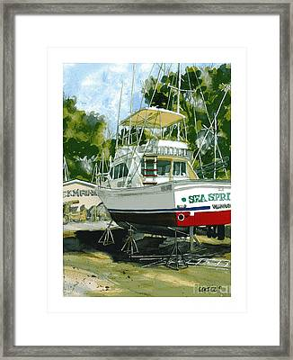 Sea Sprite Framed Print