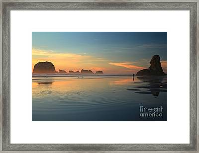 Sea Stack Photographer Framed Print by Adam Jewell