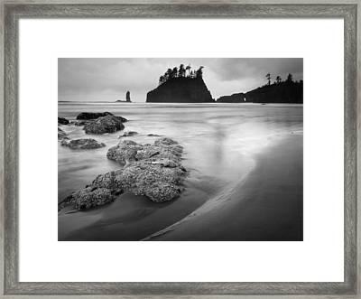 Sea Stacks II Framed Print by Kyle Wasielewski