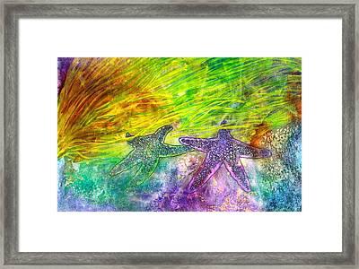 Sea Stars Framed Print by Janet Immordino