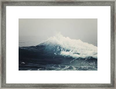 Sea Storm  Framed Print by Bree Madden