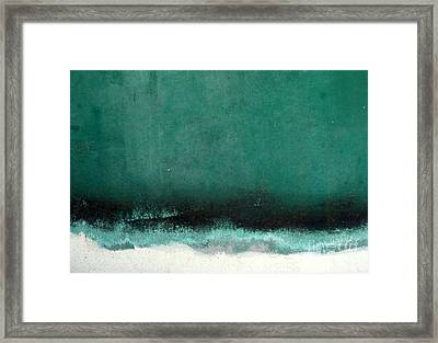 Framed Print featuring the photograph Sea Storm by Robert Riordan