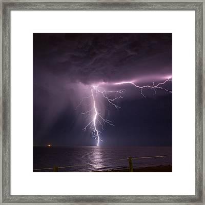Sea Strike Framed Print