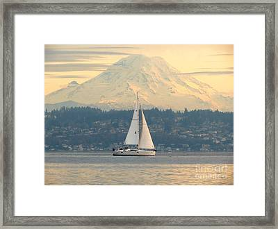 Sea To Sky Framed Print