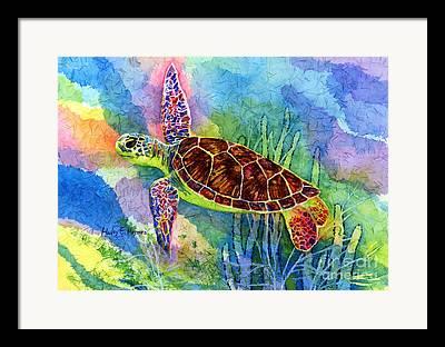 Flippers Framed Prints