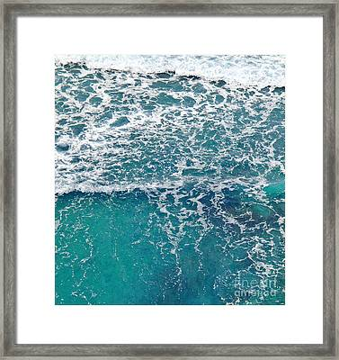 Sea View Framed Print by Liz  Alderdice