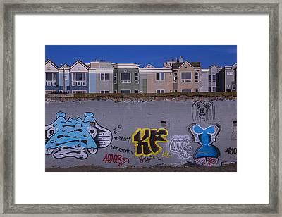Sea Wall San Francisco Framed Print