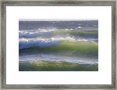 Sea Waves Framed Print
