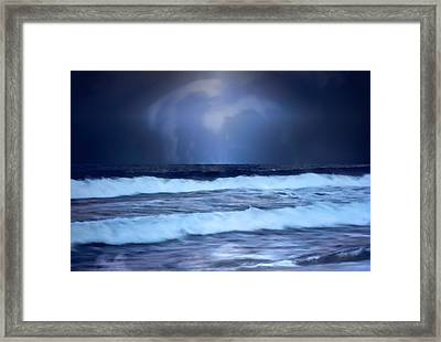 Sea Worlds Framed Print by Kellice Swaggerty