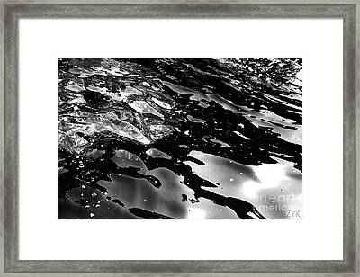 Framed Print featuring the photograph Sea1 by Cazyk Photography