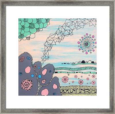 Seabed Spirit Framed Print by Susan Claire