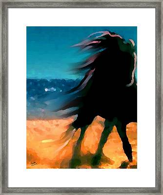 Seaborne 4 Framed Print by Marcello Cicchini