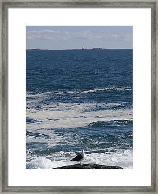 Seabreeze. Framed Print by Robert Nickologianis