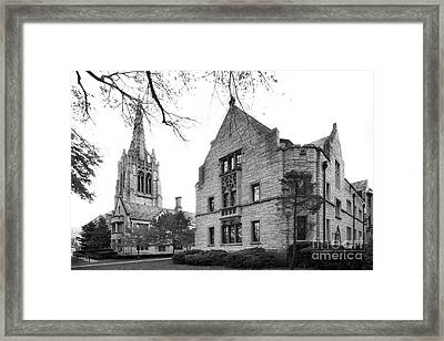 Seabury Western Seminary Framed Print by University Icons