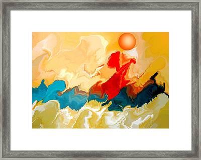 Seacape Framed Print by Joseph Ferguson
