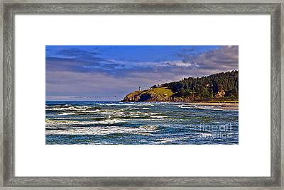 Seacape Framed Print by Robert Bales