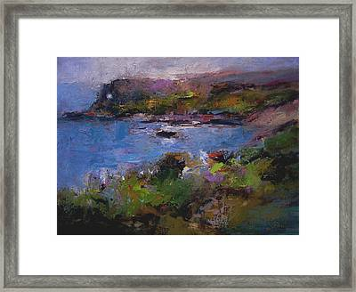 Seacave Point Framed Print by R W Goetting
