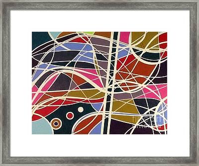 Seaching Framed Print