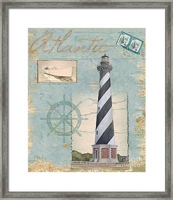 Seacoast Lighthouse I Framed Print by Paul Brent
