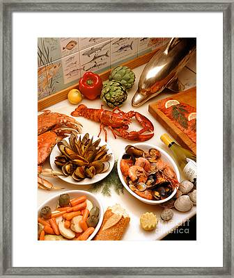 Seafood Extravaganza  Framed Print by Craig Lovell