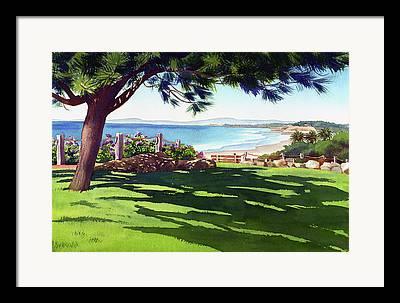 North Beach Framed Prints