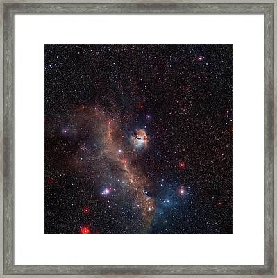 Seagull Nebula Framed Print by Digitized Sky Survey 2/european Southern Observatory