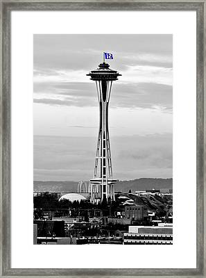 Seahawk Pride Framed Print by Benjamin Yeager