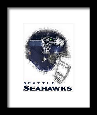 Seattle Seahawks Framed Prints