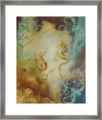 Seahorse Dream 1 Framed Print by Dina Dargo