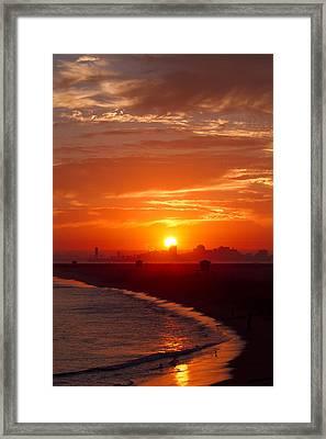 Seal Beach 7 Framed Print by Tom Kelly