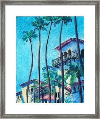 Seal Beach City Hall Framed Print