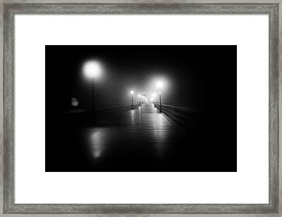 Seal Beach Pier - 2014 Framed Print
