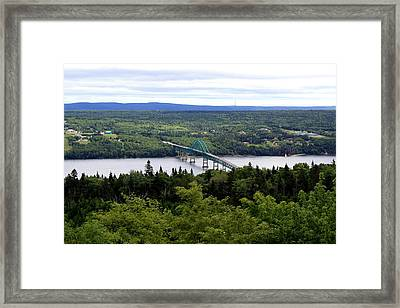 Seal Island Bridge Framed Print by Jason Lees