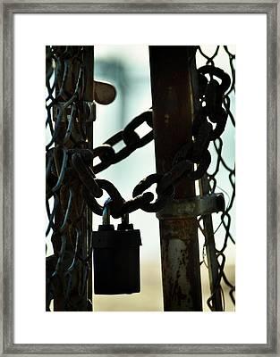 Sealed Framed Print by Rebecca Sherman