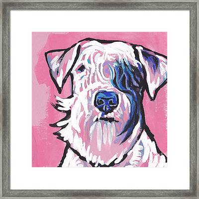 Sealed With A Kiss Framed Print