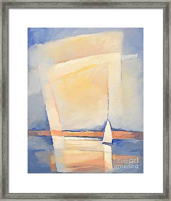 Sealight Impression Framed Print