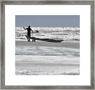 Seaman Framed Print by Simona Ghidini