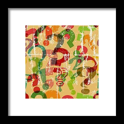 Seamless Framed Prints