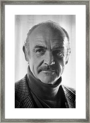 Sean Connery Framed Print by Mountain Dreams