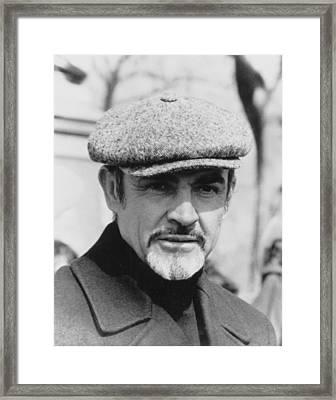 Sean Connery Framed Print