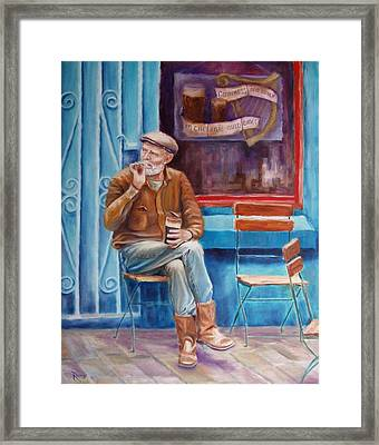 Sean Demsey And The Rare Auld Times Framed Print by Bernie Rosage Jr